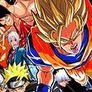Creetor Animation Fighting: Luffy VS Naruto